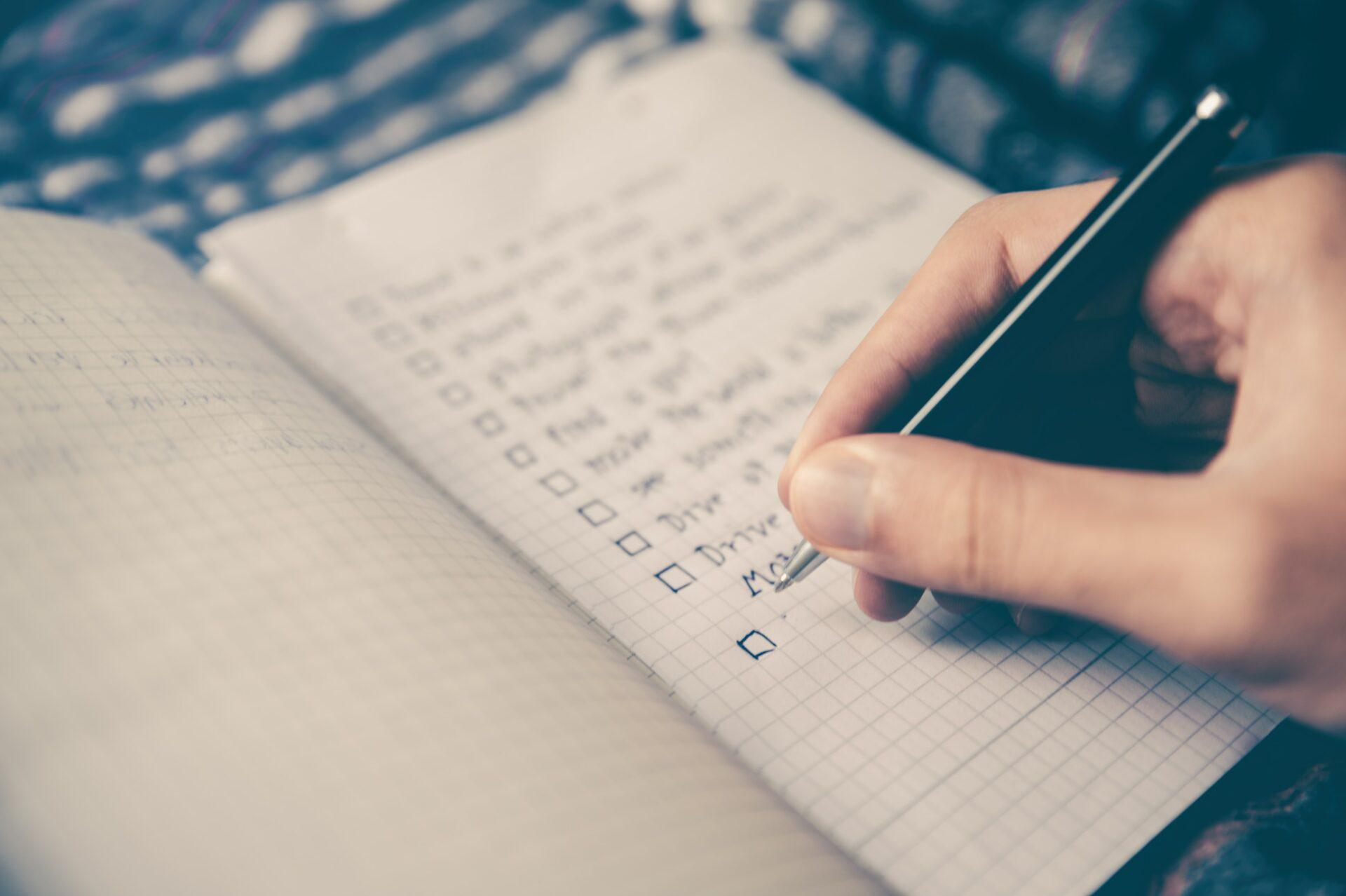 blog drie voordelen van een checklijst